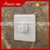 Bihu Universal white wall mount fan speed control dimmer 110v-240v switch