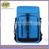Custom High Quality Large Capacity Blue SLR Camera Backpack Bag for Traveling