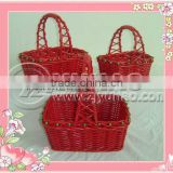 2012 Newest Colorful Easter Baskets for Adults with Handle