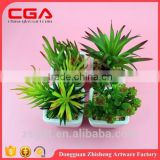 Artificial Artificial succulent plants tropical plants small bonsai home decoration Plastic emulation succulent plant