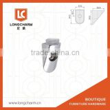 small Longcharm tapered glass shelf brackets supports for glass shelves cabinet support YL-829