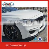 Carbon Fiber Front Lip for BMW F80 M3 F82 M4 Front Bumper Lip