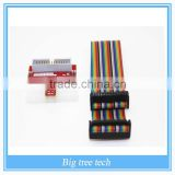 DZ 1Set Raspberry PI GPIO Extension Board + 26 Pin Extension Flat Ribbon Cable Wire next
