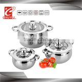 CYCS36C-5A stainless steel 12 pcs induction cookware sets