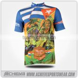 Custom Design Outdoor Bike Clothing Bicycle Men Short Sleeves Cycling Jersey