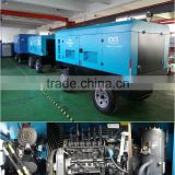 Two stage high pressure rotary screw Diesel portable Air Compressor