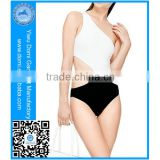 Domi factory custom your own private label hot girls photos swimming wear 2014 ladies beautiful sexy one piece bathing suits