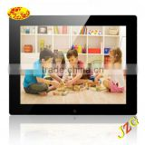 "Chinese sex digital photo frame video free download battery operated full function 8"" digital photo frame"