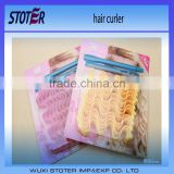 plastic Material magic hair curler