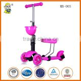 3 in 1 MB-005 Kids kick scooter 2 wheel pro adults balance mobility child scooter 3 wheel