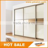 Overlay sliding Series Hanging Closet Organizer Metal Wardrobe Cabinet Used Bedroom Wardrobe Design