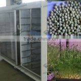 Best Price Fully Automatic Water Temperature Controll Animal Feed Barley Sprout Making Machine