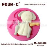 Dog bone Silicone sugarcraft mold, ouppy cupcake decorating mold, perfect cupcake decoration