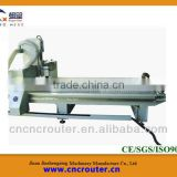 Jinan woodworking cnc machine 3d for sale with the rotary clamp on front of the vacuun table