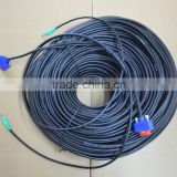 100FT SLIM VGA Monitor Cable with Audio 3.5 M-M