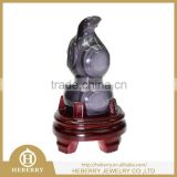 natural crystal rainbow obsidian charming calabash crystal carving for home decoration or gift