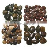 Hot-Sale Natural Polished Pebbles decorating white natural polished road pebbles Salable polished natural stone pebbles