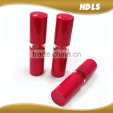 eco friendly wholesale round ABS empty lip balm container for cosmetics