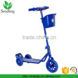 high quality Kids scooter 3 wheels, outdoor mini baby scooter, pink blue cheap child kick scooter
