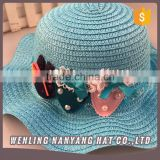 Little Girl School Straw Hats Girl Sequined Hats