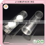 disposable plastic tennis ball tube , plastic golf ball cylinder packaging, quality round box