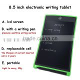 Promotional LCD small writing board 8.5 inch message board erasable drawing pad