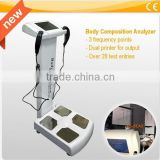 Types of auto analyzer Colorfull touch screen body composition analyzer body analyzer scale