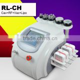 Ultrasound Cavitation For Cellulite 2014 New Arrival Cavitation Slimming Machine/cavitation Slimming System/Cavitation RF Machine For Full Body Breaking Cellulite Vacuum Fat Loss Machine