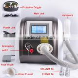 Hori Naevus Removal Portabel Q-switch Nd Laser Removal Tattoo Machine Yag Laser Embroider Tattoo Lipline Removal