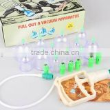 Chinese Medical Vacuum Body Cupping Massage Healthy Therapy Suction Set
