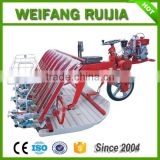One wheel Diesel Oil Riding type 8 rows 238mm Rice Transplanter with good rice transplanter price