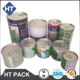 100ml/200ml/250ml/380ml/1l food can with easy open lid,metal cans for food/vegetable seeds/coffee beans/olive oil/sauce