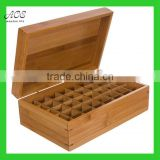 Bamboo essential oil box Custom bamboo box High quality bamboo box