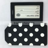 samples free factory supply cheap custom plastic rubber silicone or eco-friendly pvc luggage tag