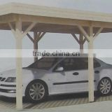 Natural Durable Design Prefab Carport Wooden