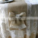 Jute products of wedding decoration