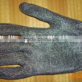 Stainless steel wire mesh gloves chain mail glovesmesh gloves for butchers
