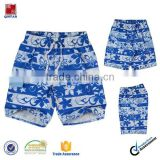 China manufacturer flowered boardshorts beach wear for boys