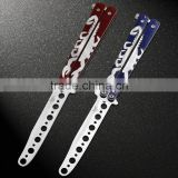 Scorpions Butterfly in Knife Training Knife Stainless Steel Knife Butterfly Knife Brave Man Gift