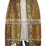 New Women Designer Trendy Reversible Party Wear Pashmina Stole ,Shawl ,Dupatta Indian 2014