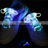 PS +nylon led blinking shoe lace led shoe light