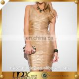 OEM service Sequin guangzhou bandage dress