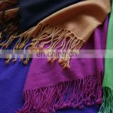 Cashmere Throws in solid colours