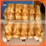 Red Fox Fur Whole Skin Fox Throw