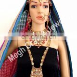 Exclusive Set of full Bridal Jewellery-Indian wedding wear Dulhan set-Bollywood fashion Designer Bridal Jewellery set