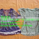 Fashion used clothing bulk