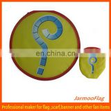 cheap advertising foldable polyester frisbee
