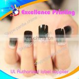 hot sale self adhesive populer gel nail sticker