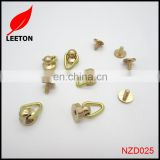 Factory supply gold brass screw buttons studs