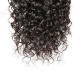 High Quality 10inch Brazilian No Mixture Curly Human Hair Blonde Yaki Straight